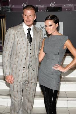Perfume Fragrance Scent Launch Photograph - David Beckham Wearing A Tom Ford Suit by Everett