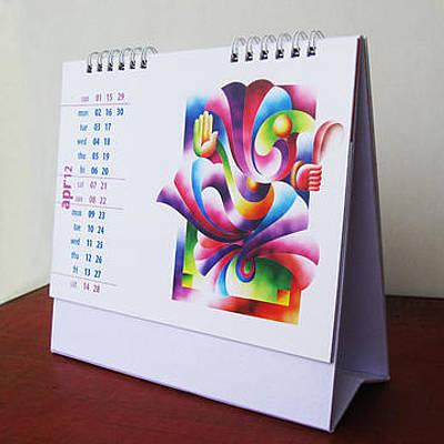 Desk Calendar 2013 Original by Uday Khatri
