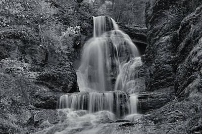 Dingmans Falls Print by Stephen  Vecchiotti