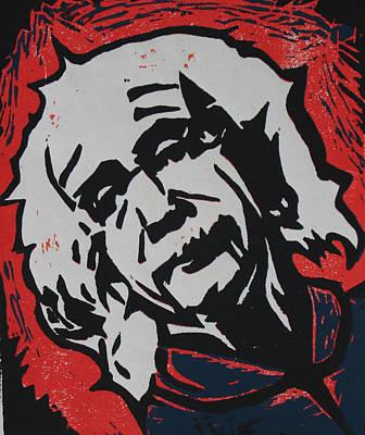 Einstein Drawing - Einstein 2 by William Cauthern