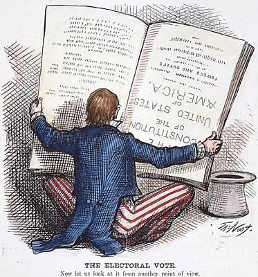 Election Cartoon, 1876 Print by Granger