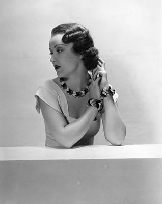 Fay Wray, Ca. 1930s Print by Everett
