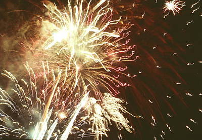 Firework Display Print by Magrath Photography