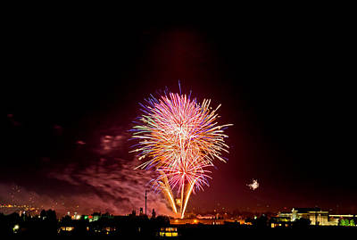 Fireworks Print by Elijah Weber