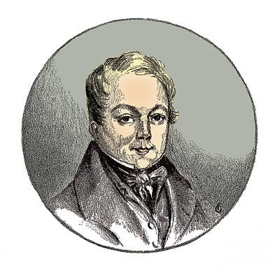 François Magendie, French Physiologist Print by Science Source