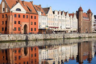 Danzig Photograph - Gdansk Old Town by Artur Bogacki