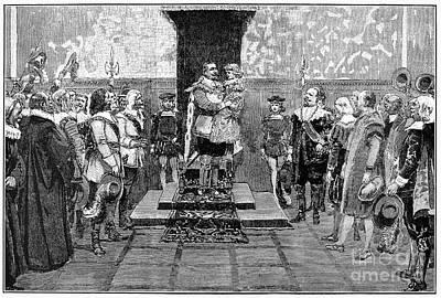 Gustavus II (1594-1632) Print by Granger