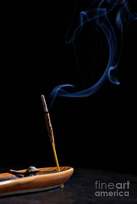 Incense Print by HD Connelly