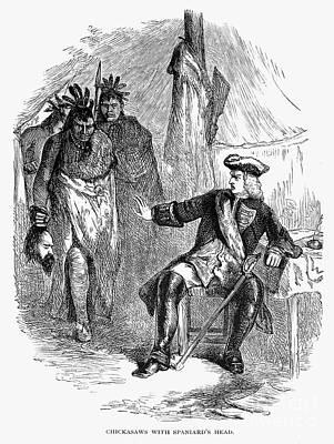 James Edward Oglethorpe Print by Granger