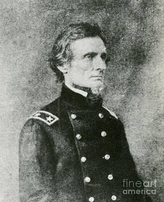 Jefferson Davis, President Print by Photo Researchers