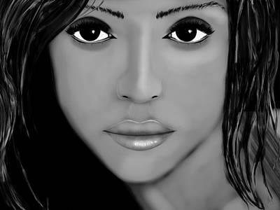 Jessica Alba Digital Art - Jessica Alba  by Mathieu Lalonde