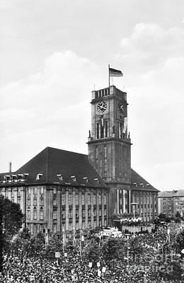 J.f.k. In Berlin, 1963 Print by Granger