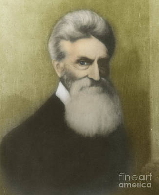 Abolition Photograph - John Brown, American Abolitionist by Photo Researchers