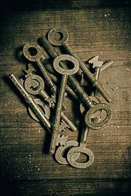 Keys Photograph - key by Joana Kruse