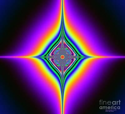 Planetary System Mixed Media - Planetary Star Ring's by Deborah Juodaitis