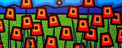 Poppy Field Original by John  Nolan