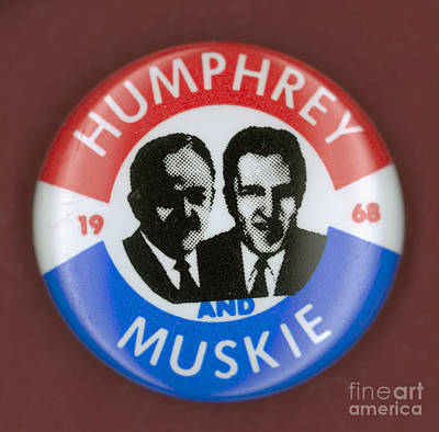 Muskie Photograph - Presidential Campaign, 1968 by Granger