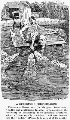 Roosevelt Cartoon, 1906 Print by Granger