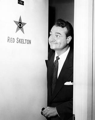 The Red Skelton Show, Red Skelton Print by Everett
