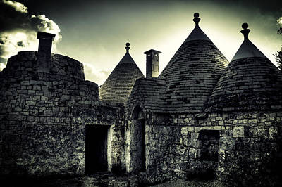 Stone House Photograph - Trulli by Joana Kruse