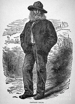 Hennessy Photograph - Walt Whitman (1819-1892) by Granger