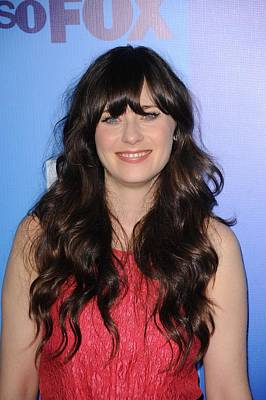 Zooey Deschanel Photograph - Zooey Deschanel At Arrivals For Fox by Everett