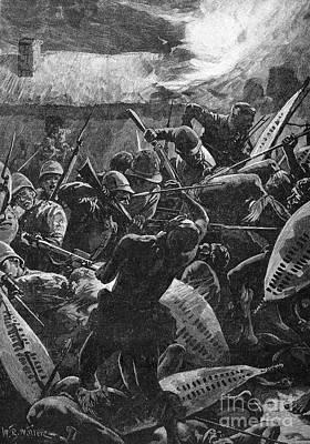 Zulu War, 1879 Print by Granger
