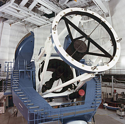 3.5-metre Optical Telescope Print by Eckhard Slawik