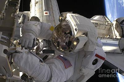 Component Photograph - Astronaut Participates by Stocktrek Images