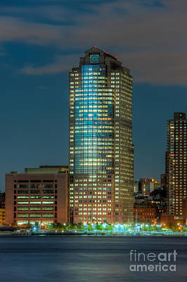 388 Greenwich Street At Twilight I Print by Clarence Holmes