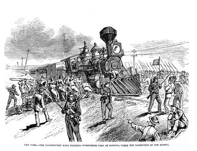 Great Railroad Strike, 1877 Print by Granger