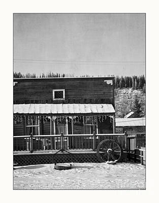Old House Photograph - 3th Avenue by Priska Wettstein