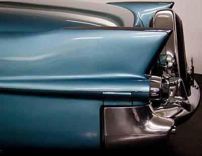 1955 Cadillac Eldorado 2 Door Convertible Print by David Patterson
