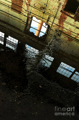 Factory Photograph - Abandoned Factory by HD Connelly