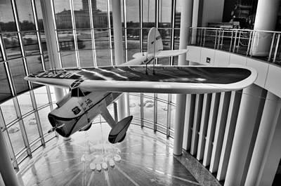 Airplane Print by Malania Hammer