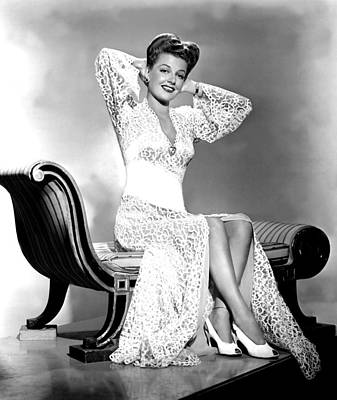 Ann Sheridan, Portrait Print by Everett