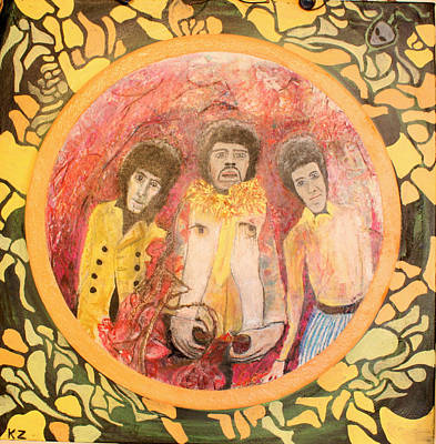 Are You Experienced. Print by Ken Zabel