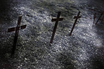 Cemetery Print by Joana Kruse