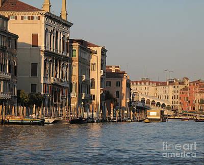 Grand Canal. Venice Print by Bernard Jaubert
