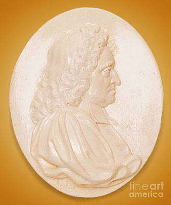 John Flamsteed, English Astronomer Print by Science Source