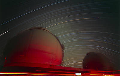 Mauna Kea Photograph - Keck I And II Observatories On Mauna Kea, Hawaii by David Nunuk