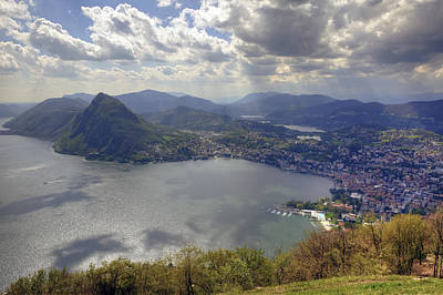 Ticino Photograph - Lugano by Joana Kruse