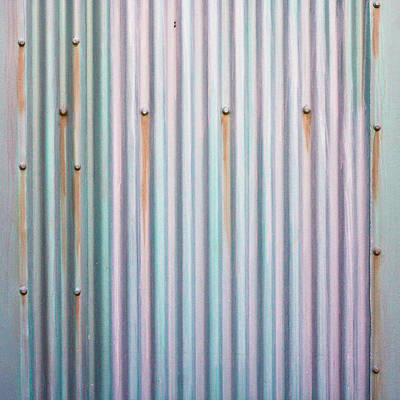 Metal Background Print by Tom Gowanlock