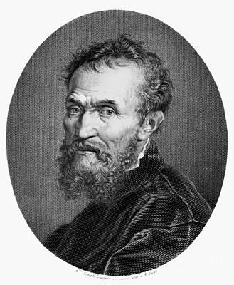 Michelangelo (1475-1564) Print by Granger