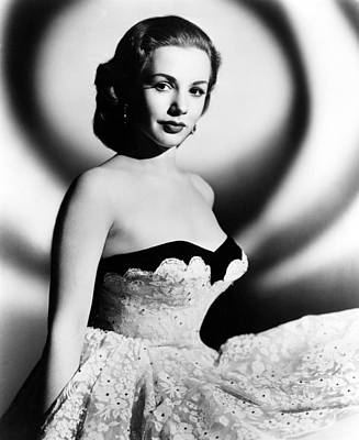 Piper Laurie, 1952 Print by Everett