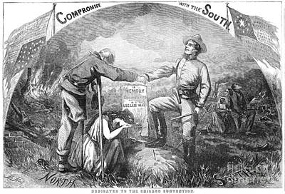 Presidential Campaign, 1864 Print by Granger