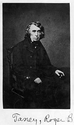 Roger B. Taney (1777-1864) Print by Granger