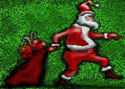 Santa Claus Digital Art - Santa Claus by Kevin Middleton
