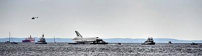 Shuttle Enterprise Print by Roni Chastain