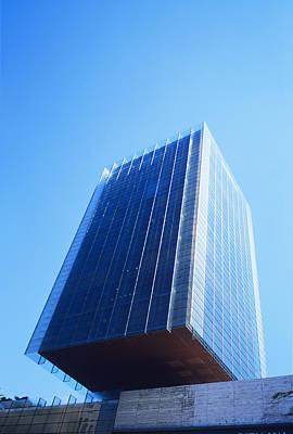 Skyscraper Print by Carlos Dominguez